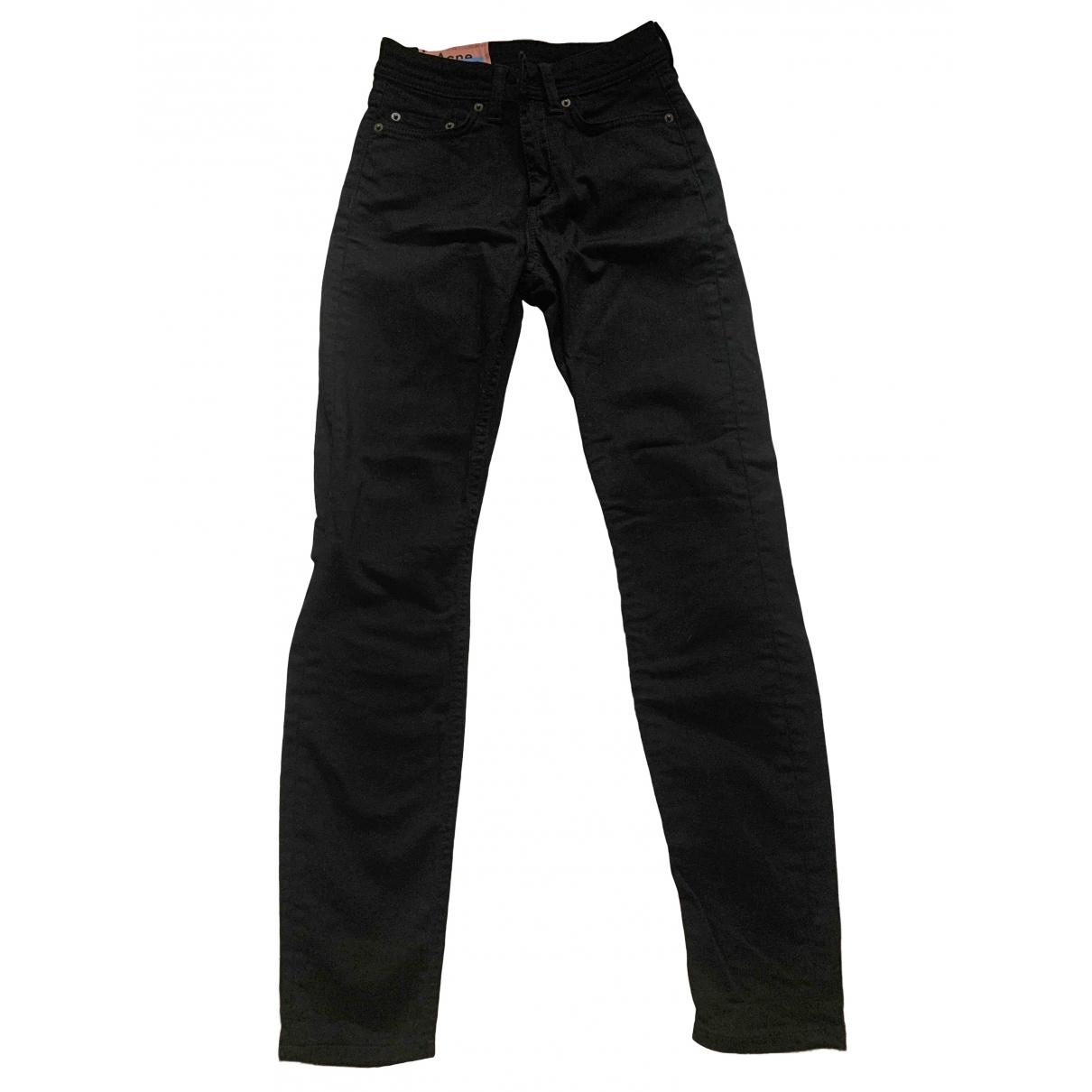 Acne Studios Blå Konst Black Denim - Jeans Jeans for Women 32 FR
