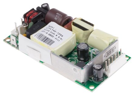 EOS , 40W Embedded Switch Mode Power Supply SMPS, 24V dc, Open Frame