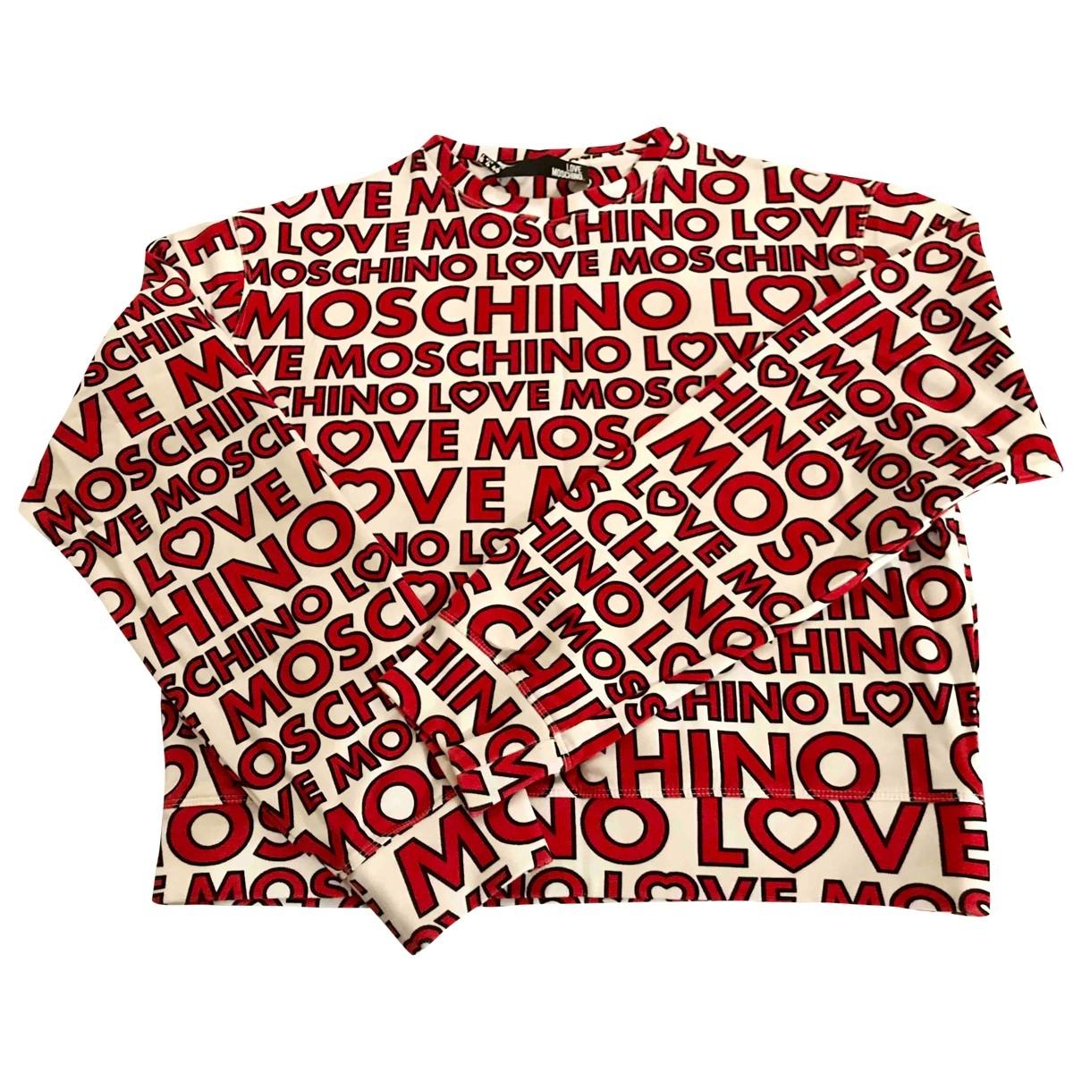 Moschino Love \N Pullover in  Bunt Baumwolle