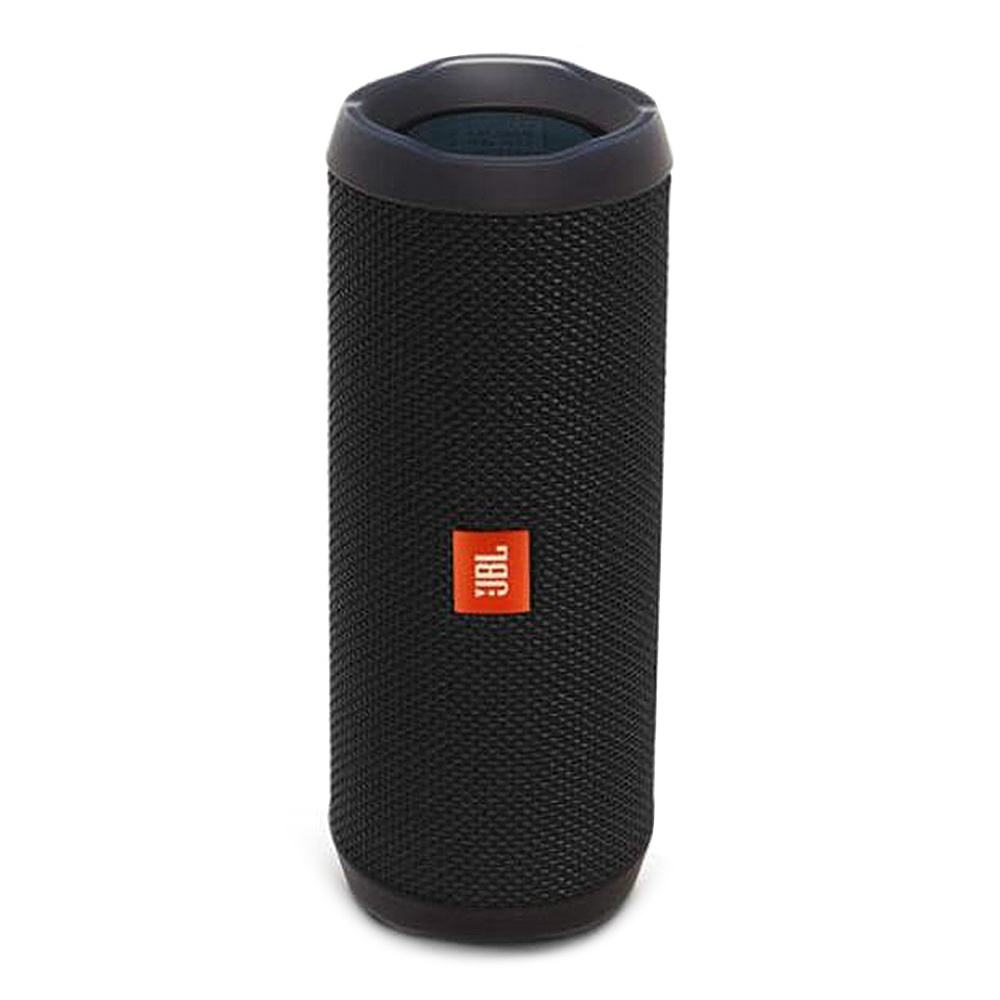 JBL Flip 4 Wireless Bluetooth Speaker Music Kaleidoscope 4 Bass IPX7 Water-resistant - Black