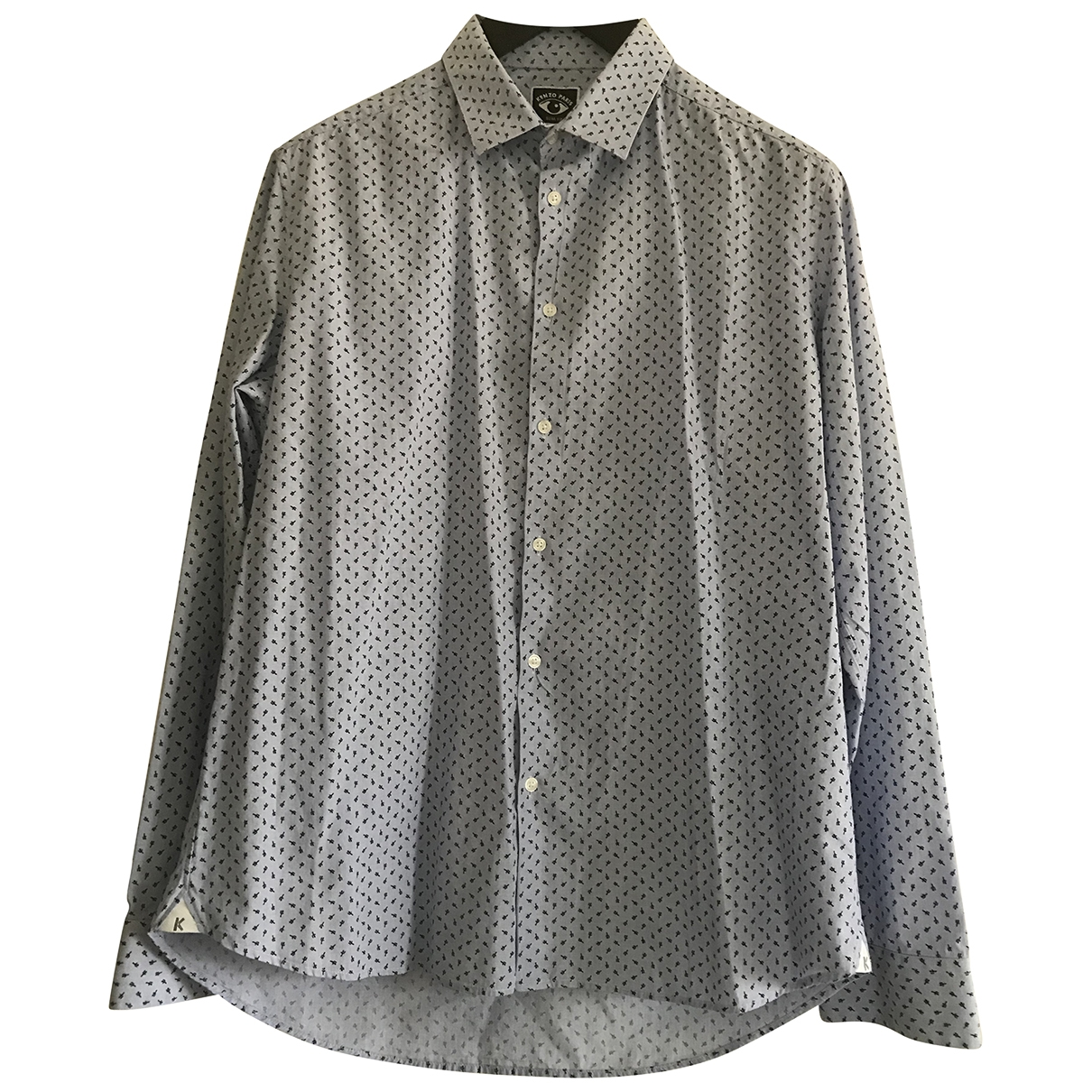 Kenzo \N Hemden in  Blau Baumwolle