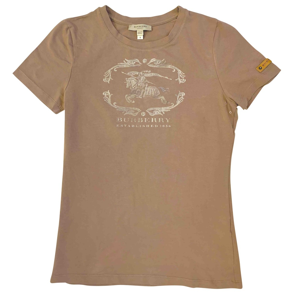 Burberry \N Brown Cotton  top for Women S International