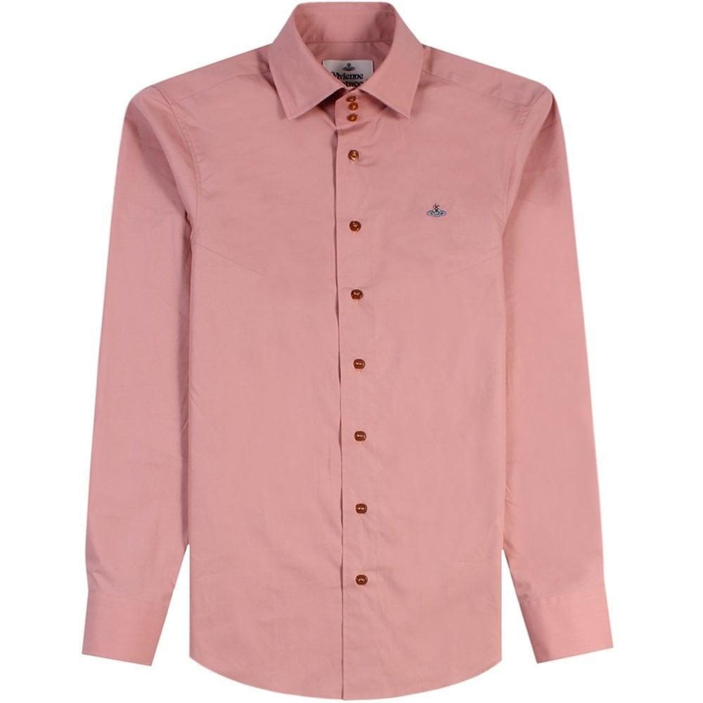 Vivienne Westwood Three Button Krall Shirt Pink Colour: PINK, Size: EX