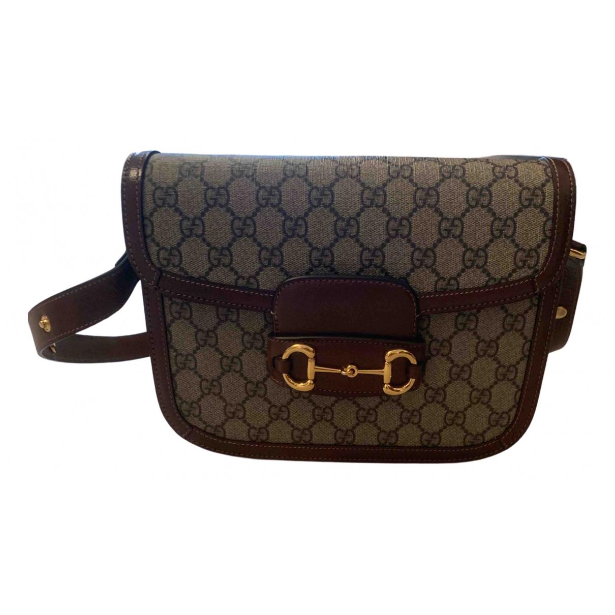 Gucci 1955 Brown Cloth handbag for Women \N