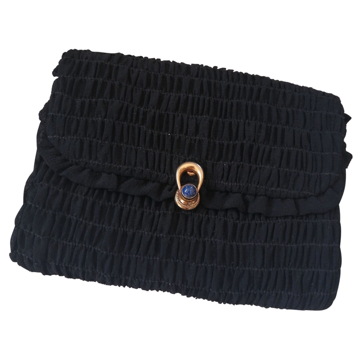 Gucci \N Black Cotton Clutch bag for Women \N