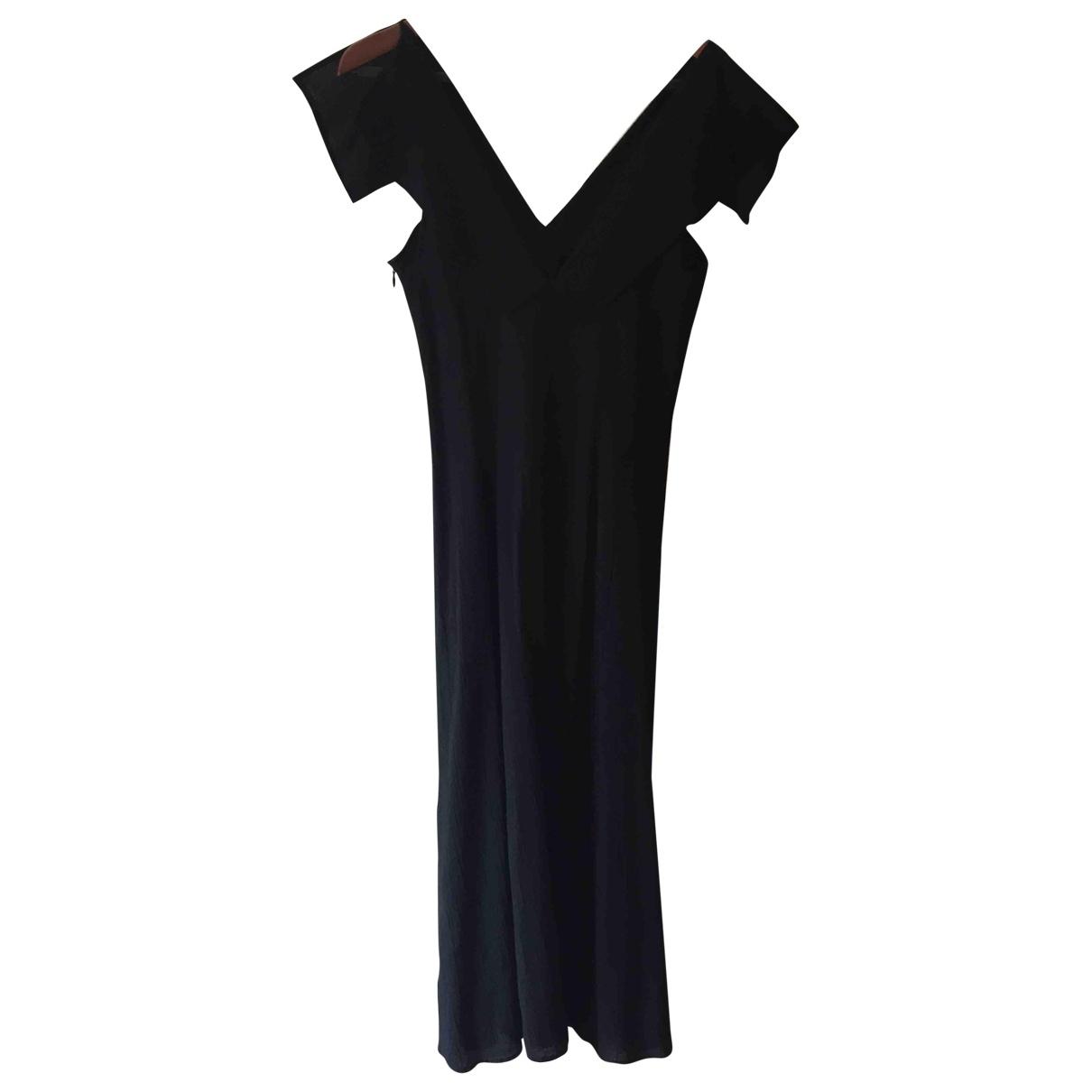 Yohji Yamamoto \N Black Cotton dress for Women 10 UK