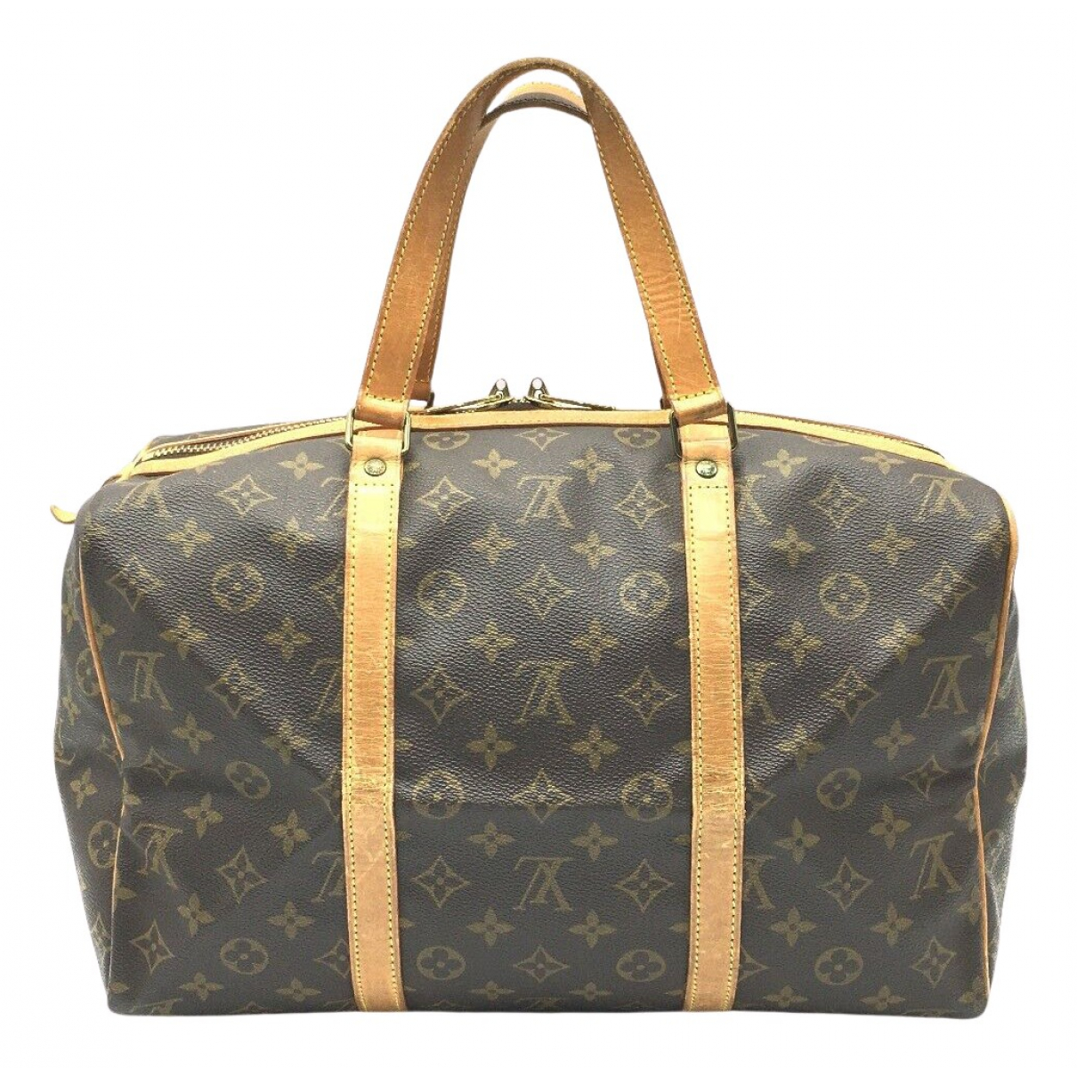 Louis Vuitton Sac souple  Brown Cloth Travel bag for Women N