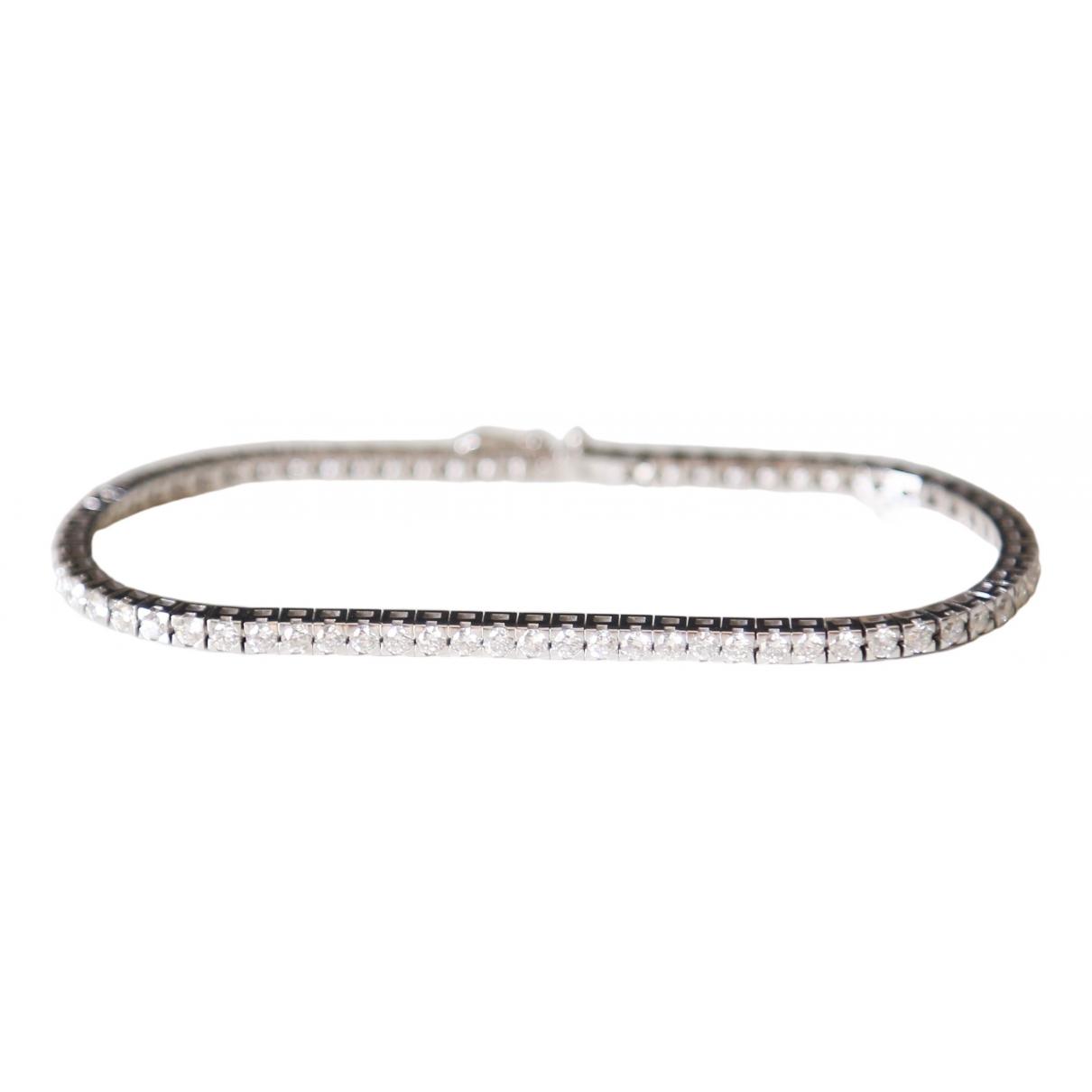 - Bracelet Tennis pour femme en or blanc