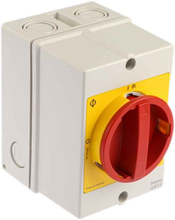 Kraus & Naimer 3 Pole Non Fused Isolator Switch - 20 A Maximum Current, 5.5 kW Power Rating, IP66, IP67