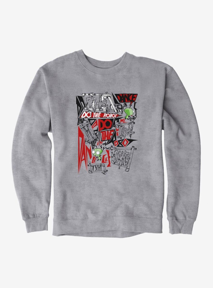 Invader Zim Do The Robot Sweatshirt