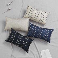 Funda de almohada con linea de flecha simple 1 pieza