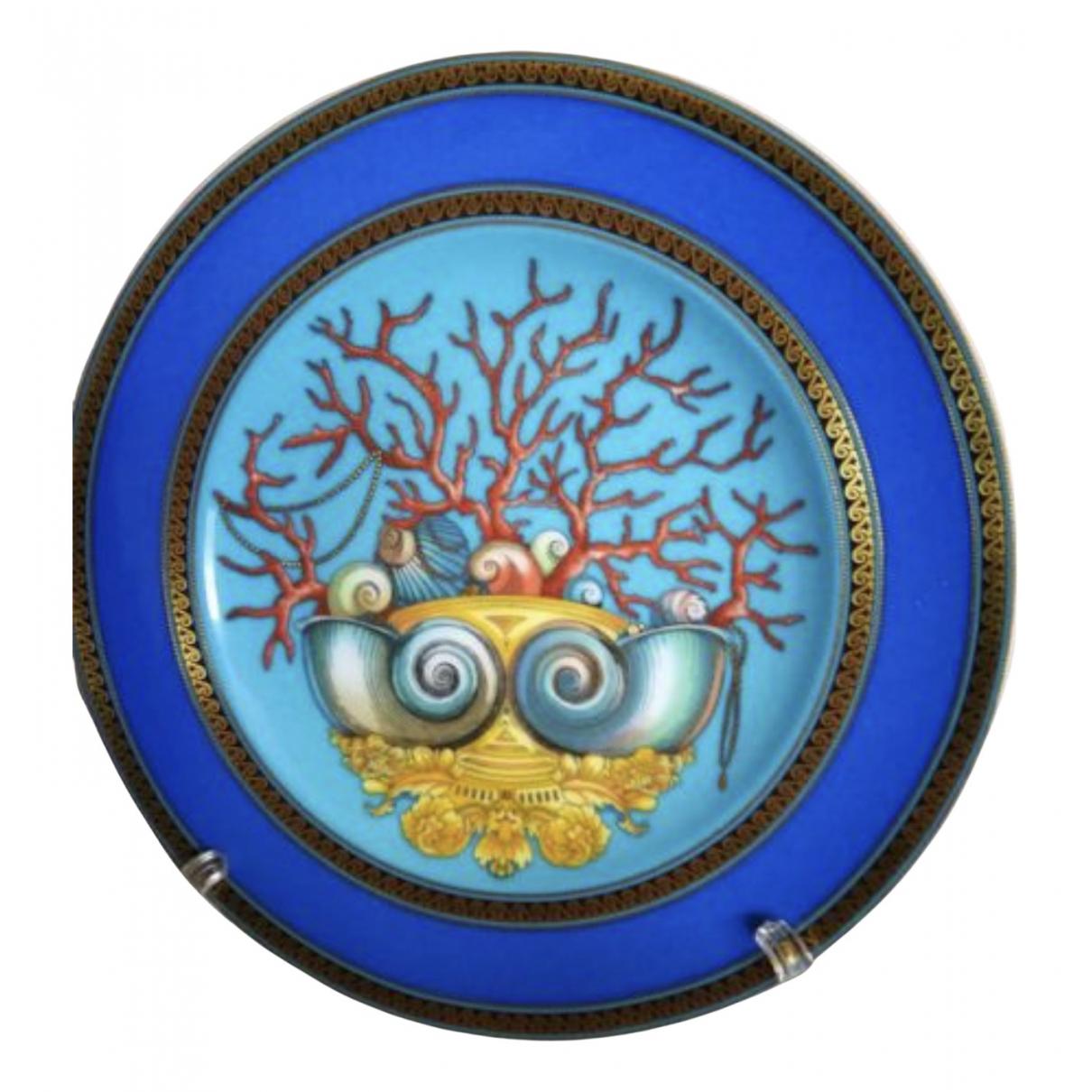 Versace - Arts de la table   pour lifestyle en porcelaine - bleu