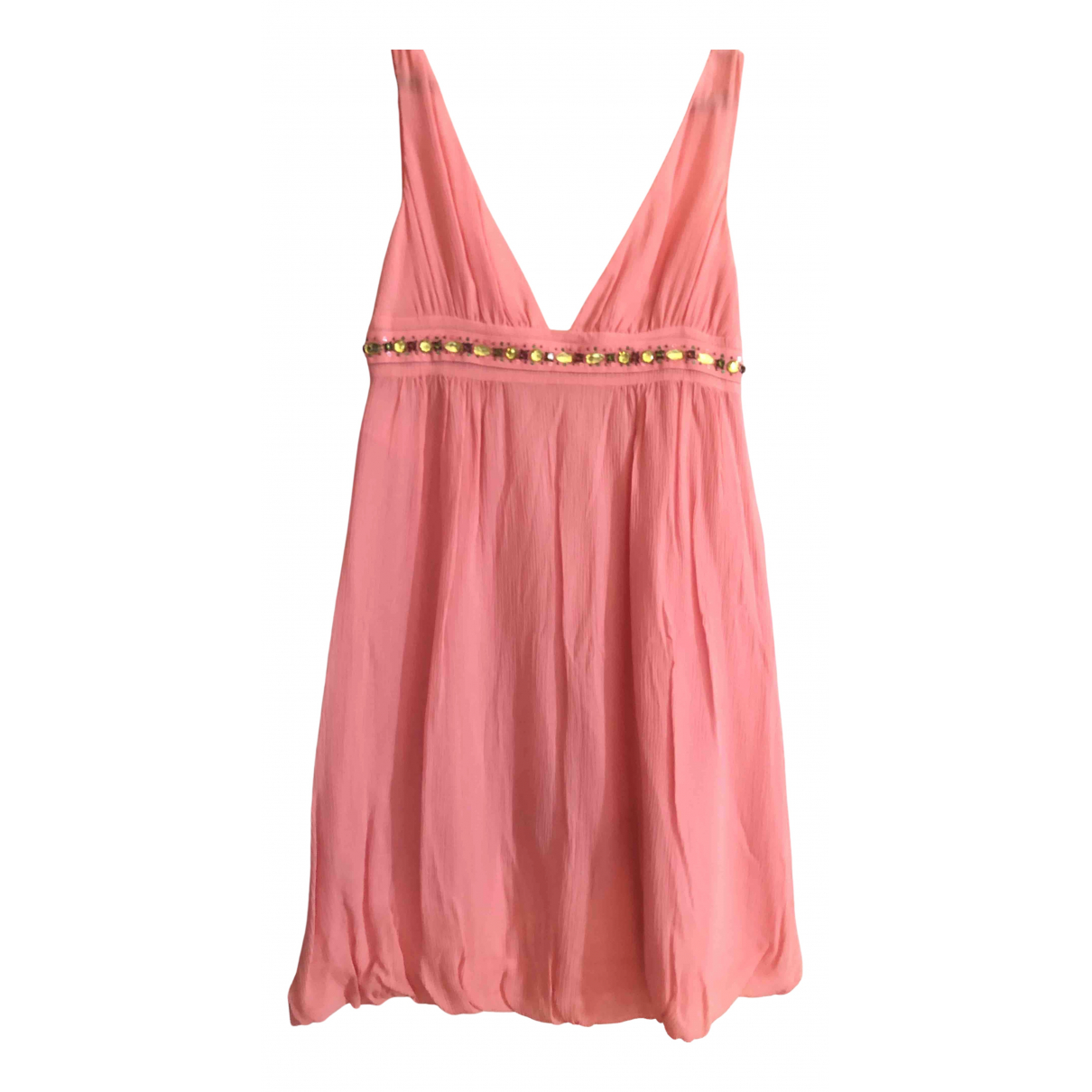 Red Valentino Garavani \N Kleid in  Rosa Seide