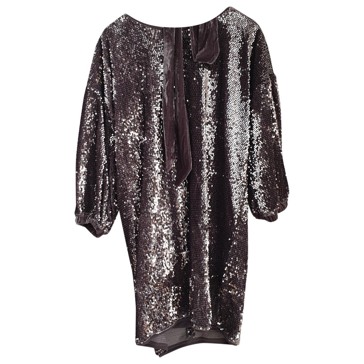 Mini vestido Oversize de Con lentejuelas Non Signe / Unsigned