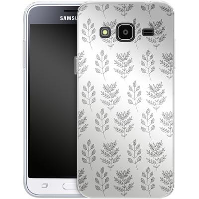 Samsung Galaxy J3 (2016) Silikon Handyhuelle - Botanic Studies 2 von Lucy Bohr