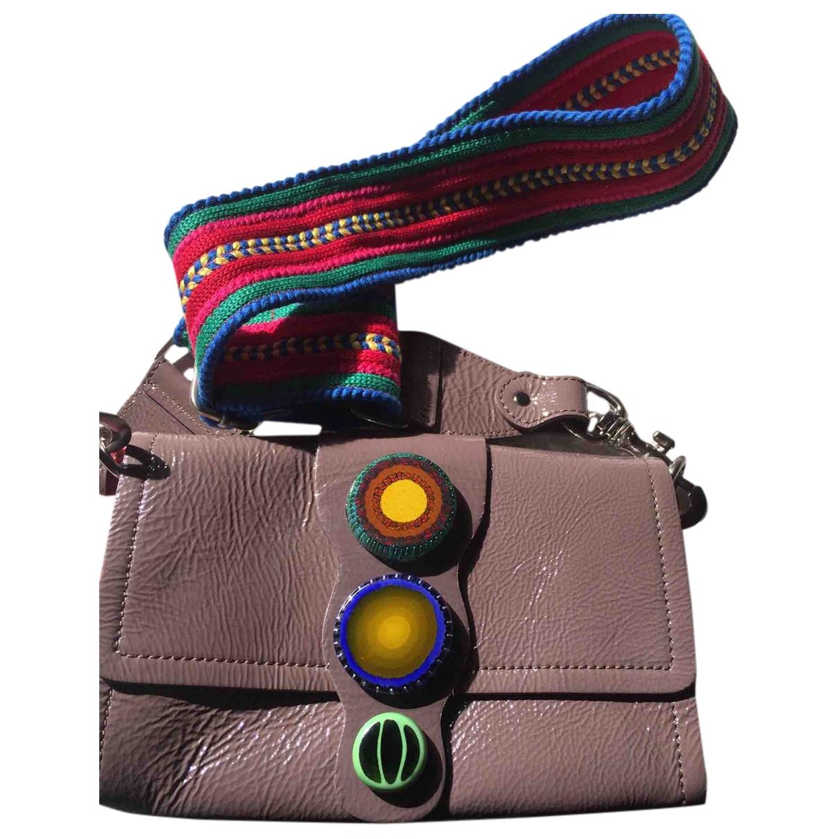 Maliparmi \N Multicolour Patent leather handbag for Women \N