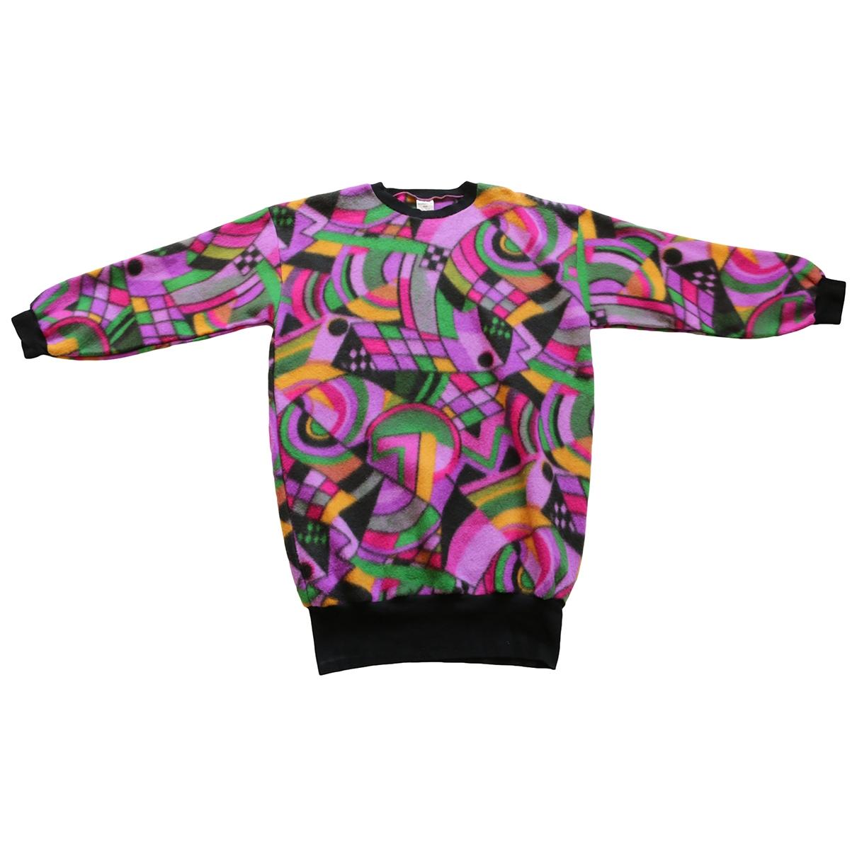 - Pull Oversize pour femme - multicolore