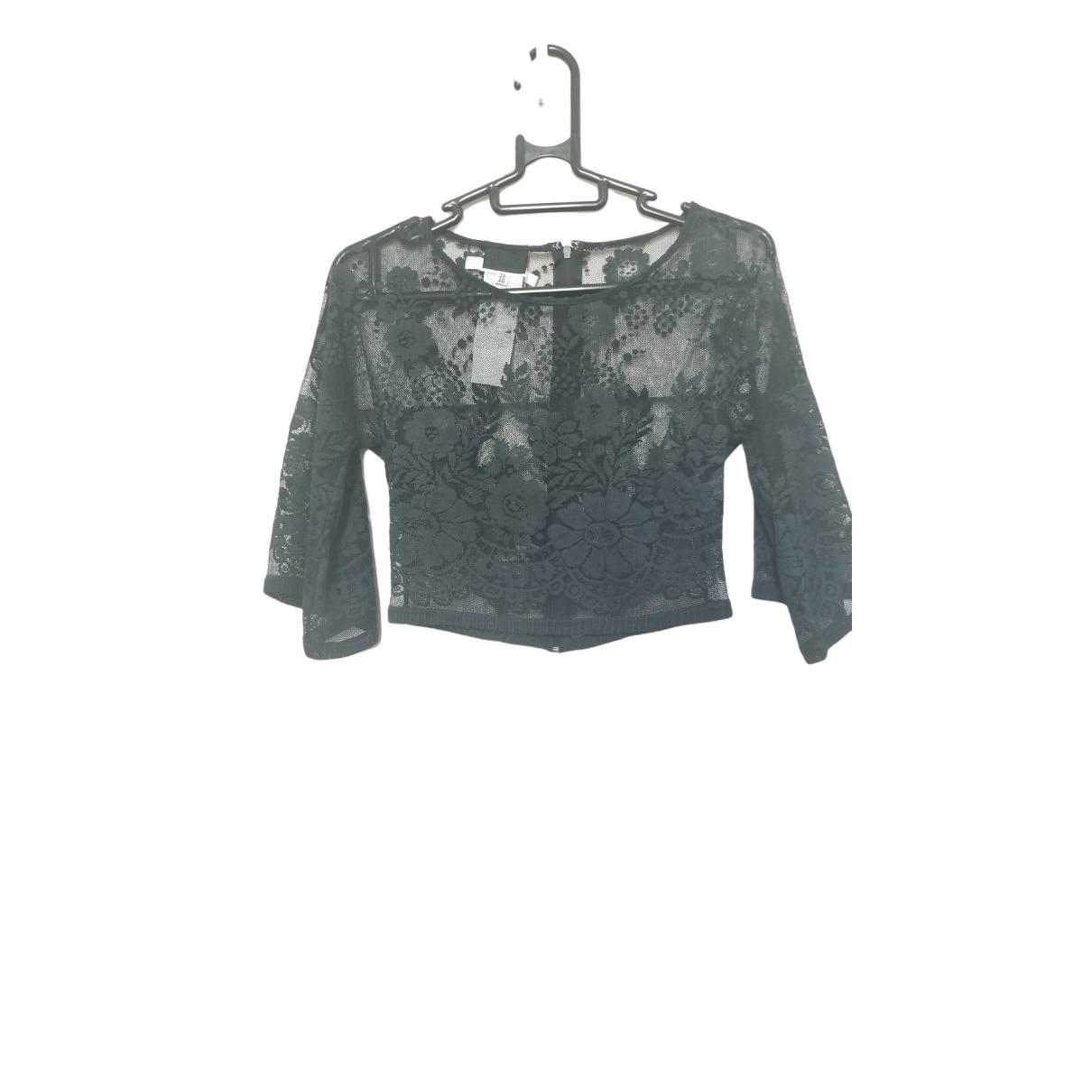 D&g \N Black Cotton  top for Women 40 IT