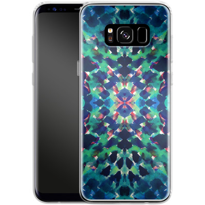 Samsung Galaxy S8 Silikon Handyhuelle - Water Dream von Amy Sia