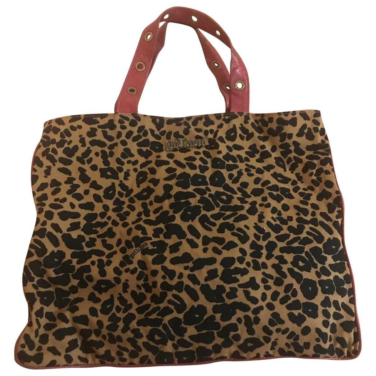 Galliano \N Purple Leather handbag for Women \N