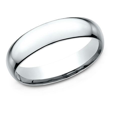 5MM Platinum Wedding Band, 5 1/2 , No Color Family