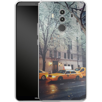Huawei Mate 10 Pro Silikon Handyhuelle - NYC Yellow Cabs von Omid Scheybani