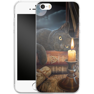 Apple iPhone 5s Silikon Handyhuelle - Witching Hour von Lisa Parker