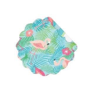 Adelaide Flamingo Quilted Placemat (Round)