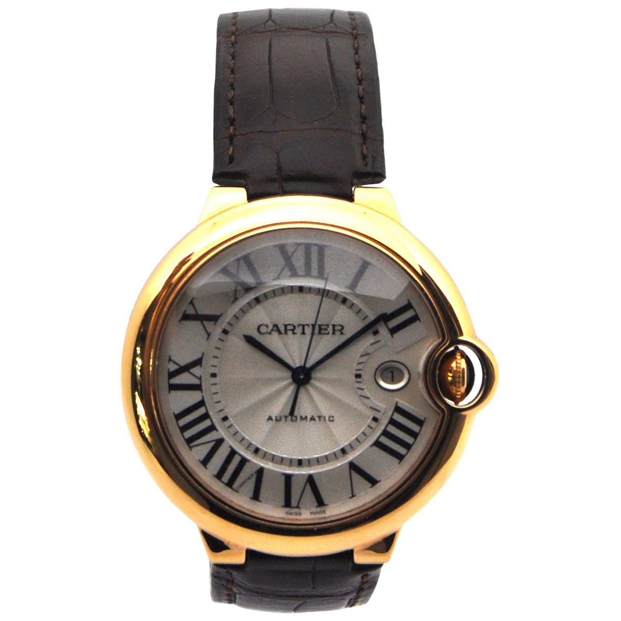 Cartier Ballon bleu Uhr in Rosegold