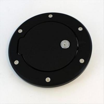 AMI Billet Fuel Doors (Black Aluminum) - 6099KL