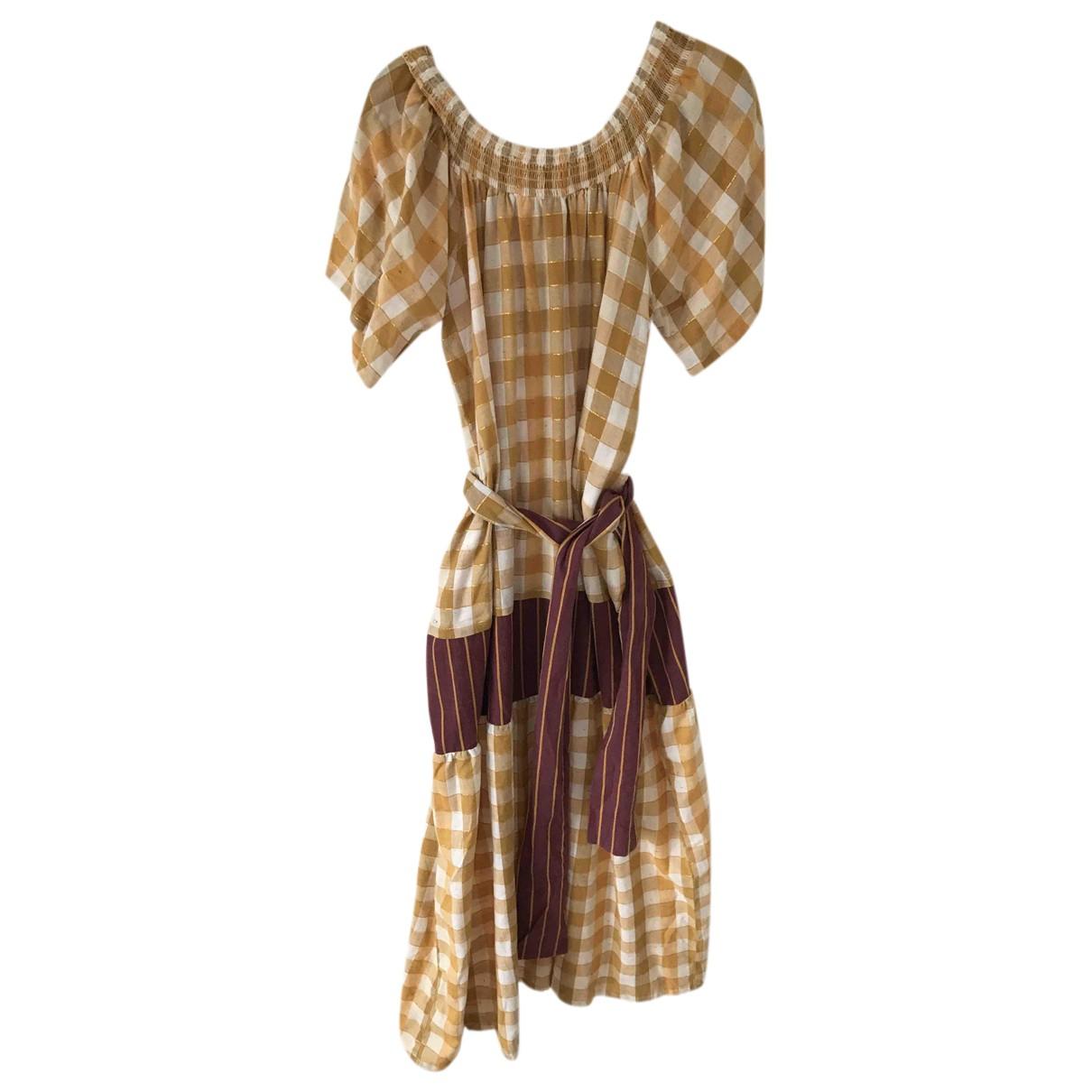 Ace & Jig \N Kleid in  Bunt Baumwolle
