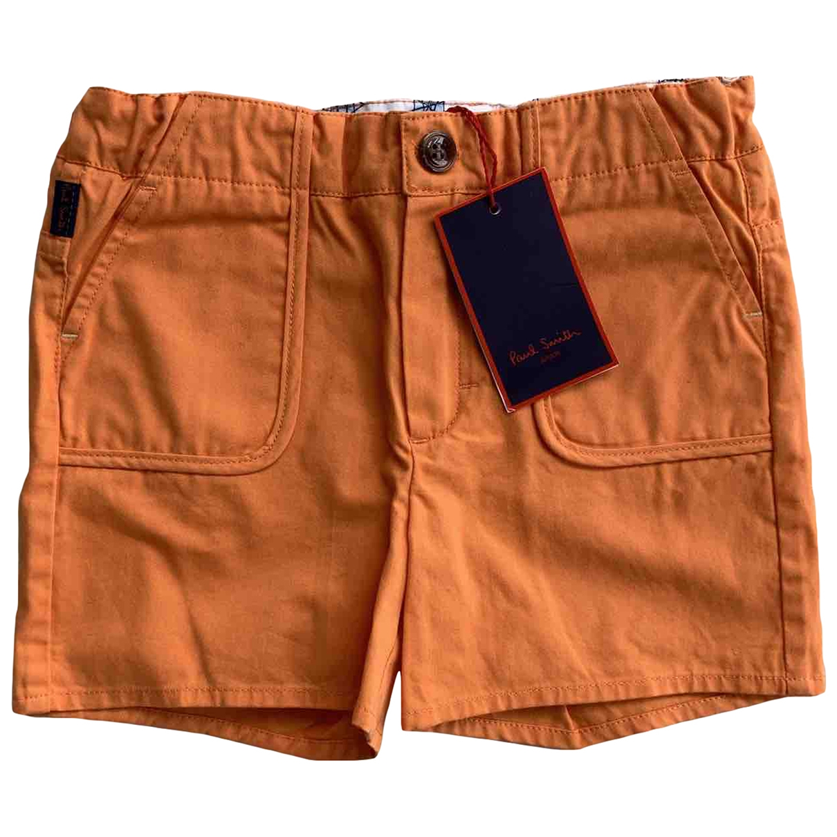 Paul Smith \N Orange Cotton Shorts for Kids 3 years - up to 98cm FR