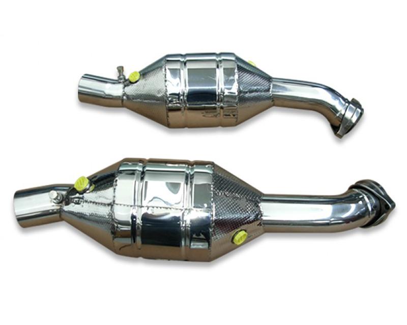 Tubi Style 01239911302 200 Cells Left Race Catalytic Converter Ferrari 360 Modena/Spider 99-05   360 Challenge Stradale 03-05