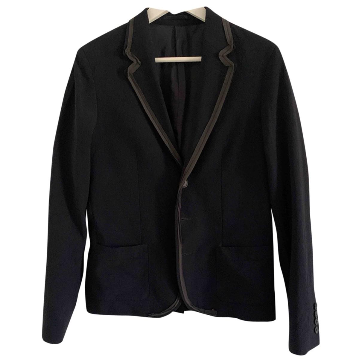 Lanvin For H&m - Vestes.Blousons   pour homme en laine - marine