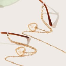 Heart Pendant Glasses Chain
