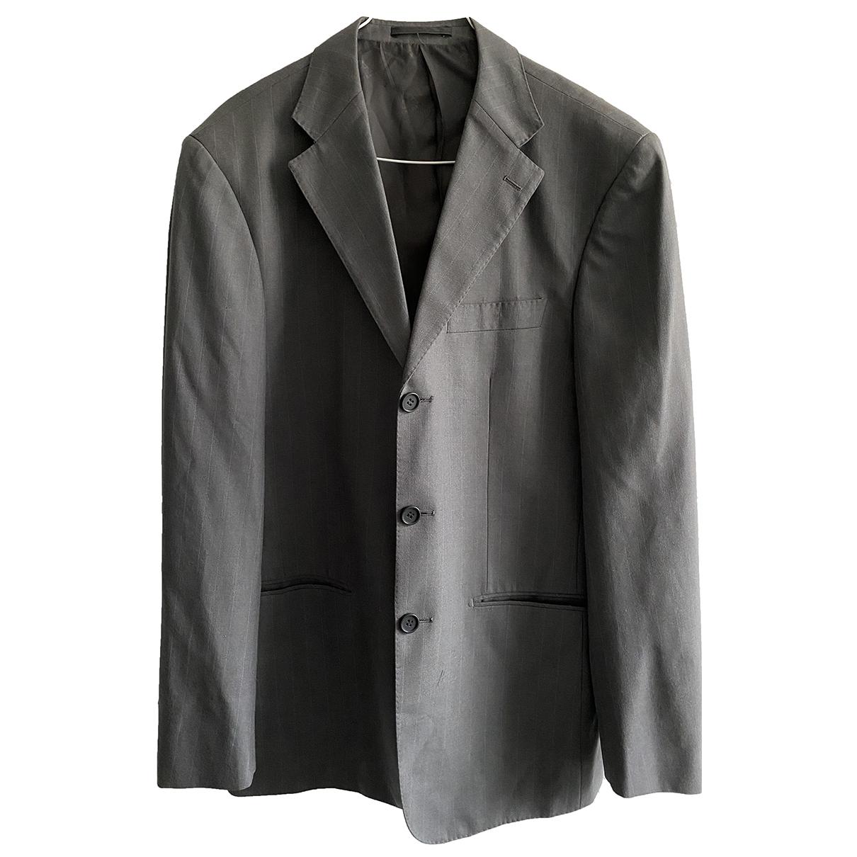Emporio Armani - Costumes   pour homme en laine - gris