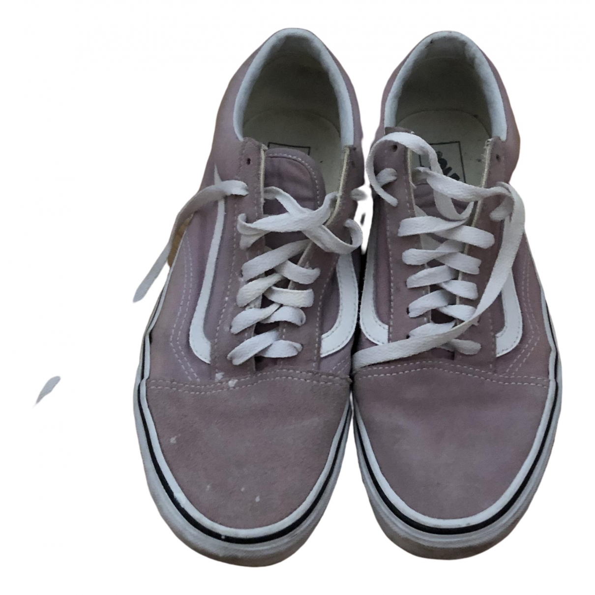 Vans - Baskets   pour femme en toile - violet