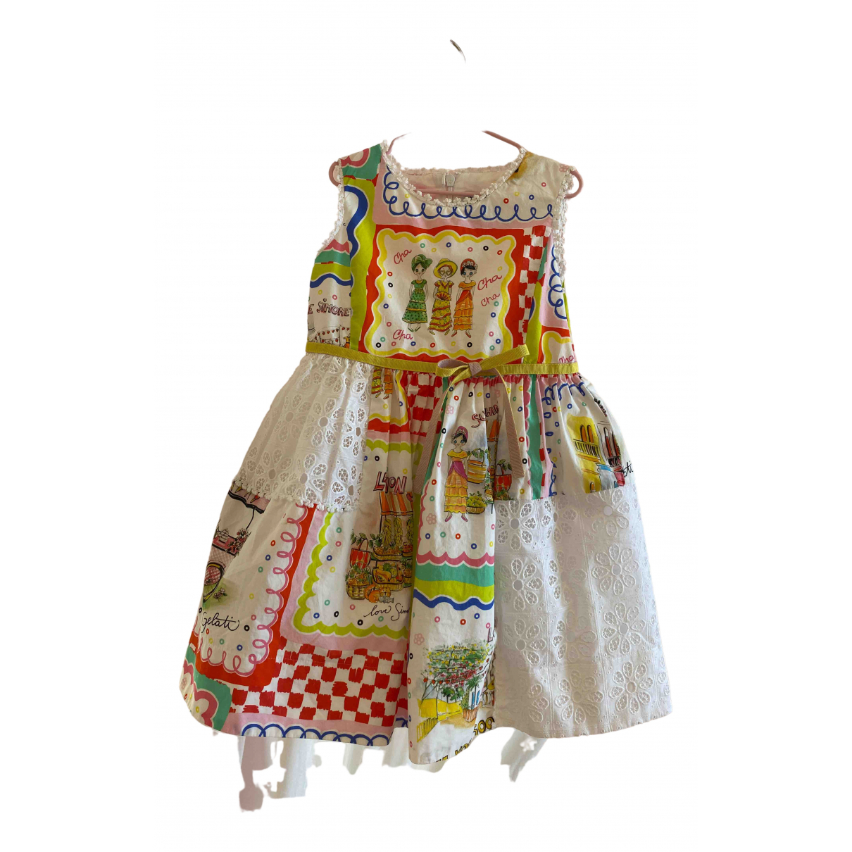 Simonetta \N Multicolour Cotton dress for Kids 4 years - until 40 inches UK