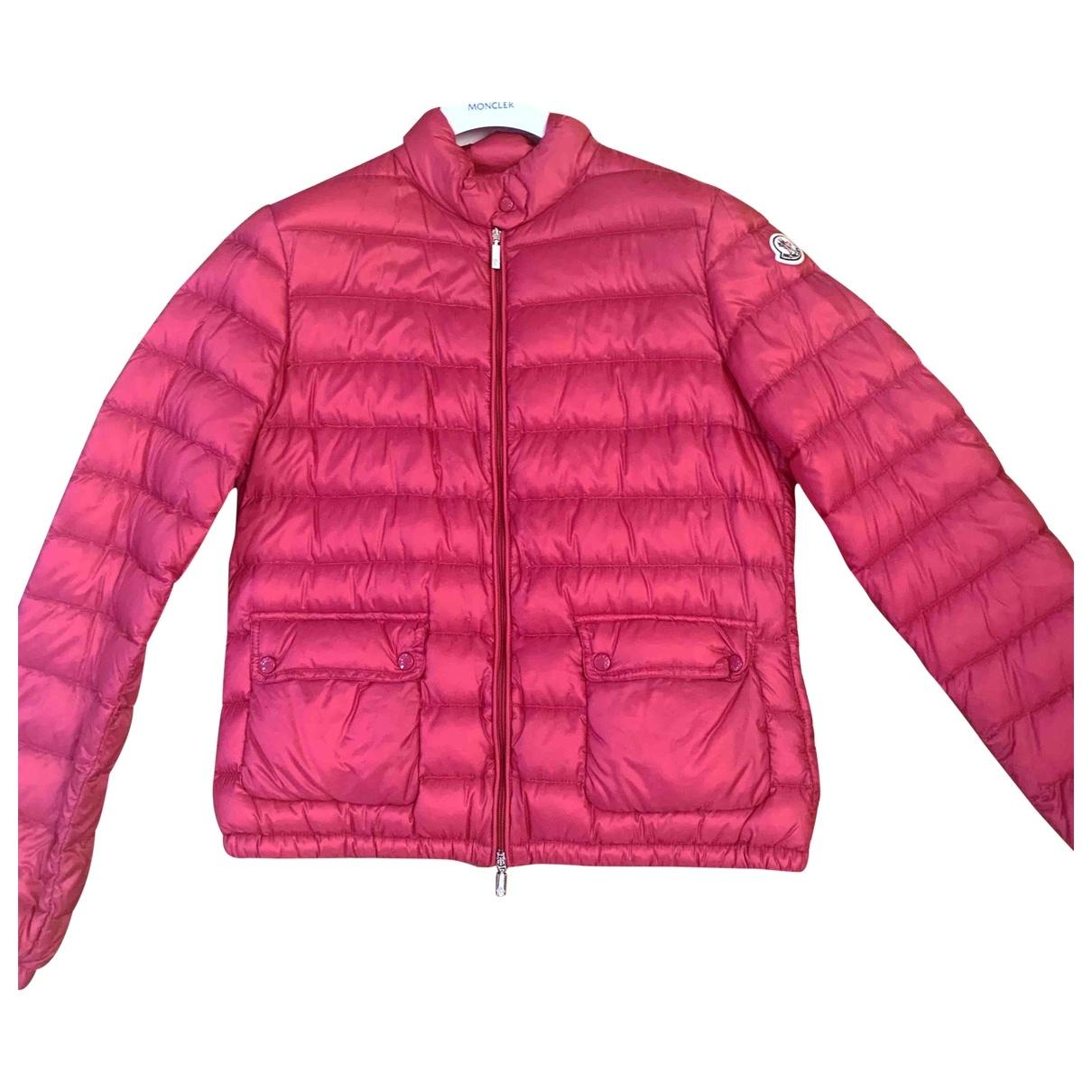 Moncler \N Jacke in  Rosa Polyester