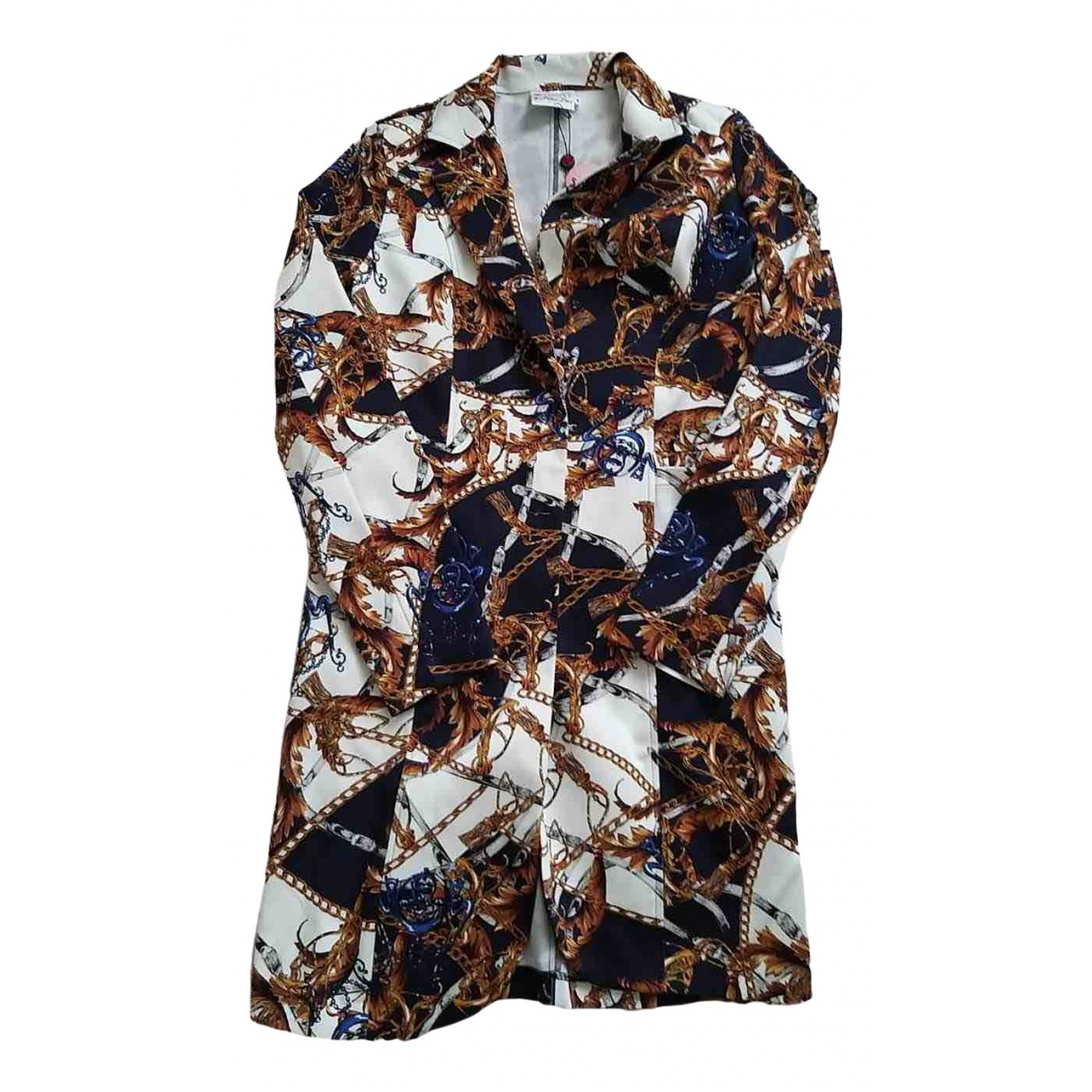 Non Signé / Unsigned \N Multicolour Cotton coat for Women M International