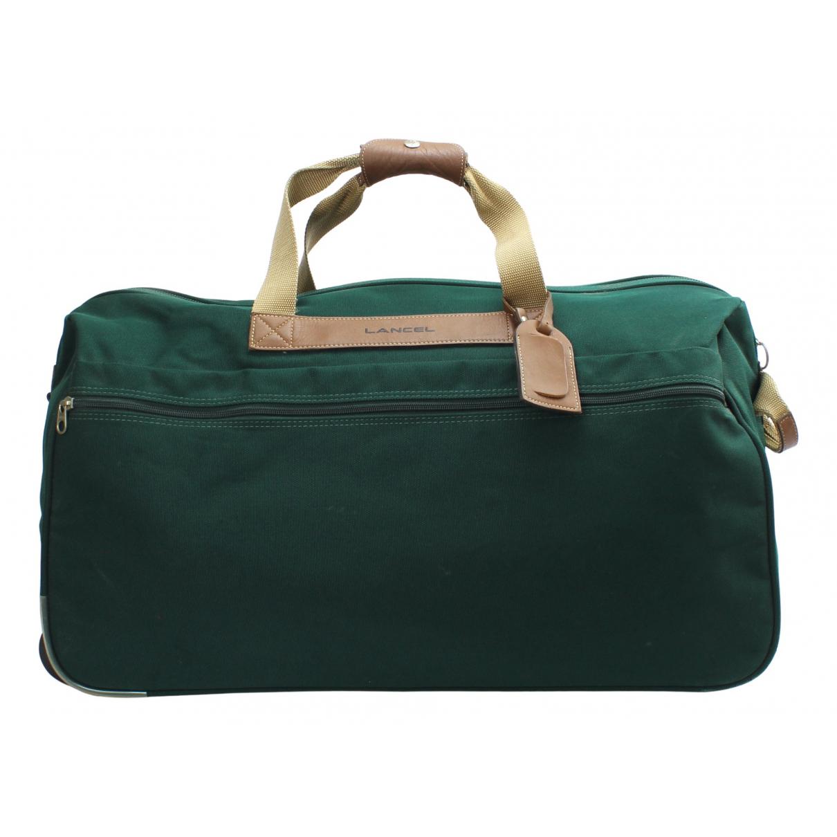 Lancel - Sac   pour homme en toile - vert