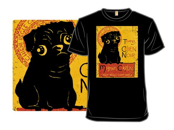 Chien Noir T Shirt