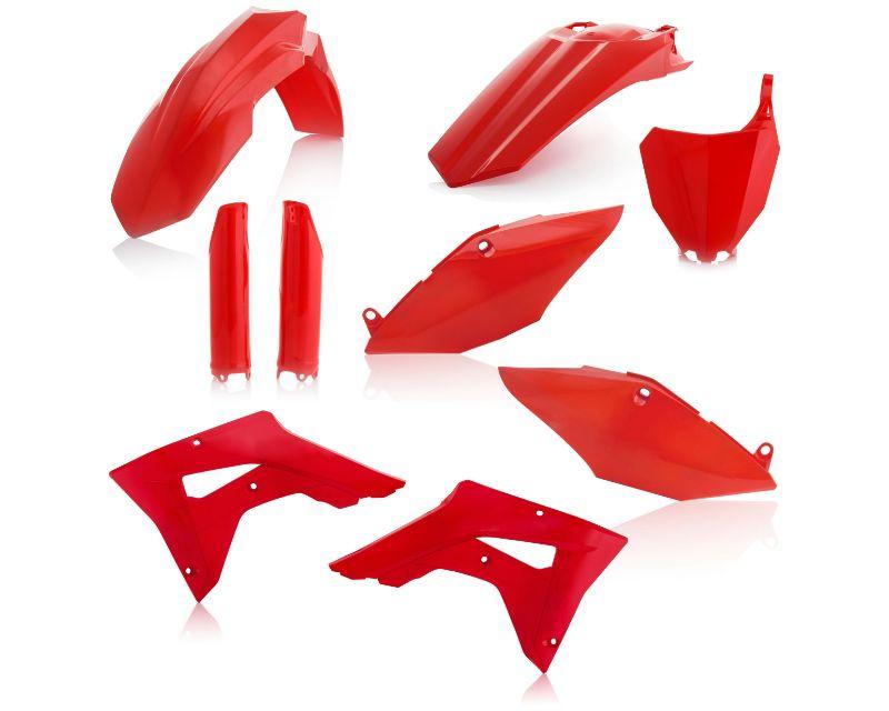 Acerbis 2645470227 Full Plastic Kit Red Honda CRF450RX 17 -18