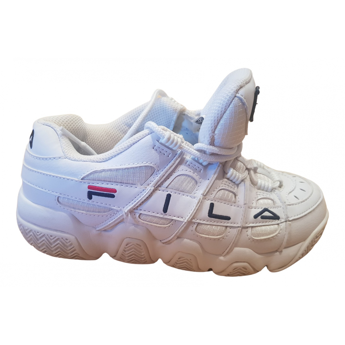Fila N White Rubber Trainers for Kids 36 FR
