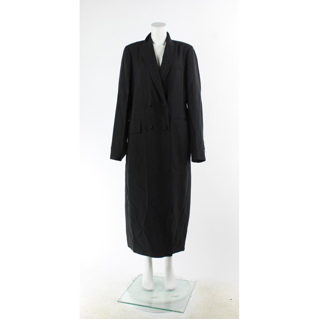 Joseph \N Black Silk coat for Women 12 UK