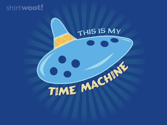 This Is My Time Machine T Shirt