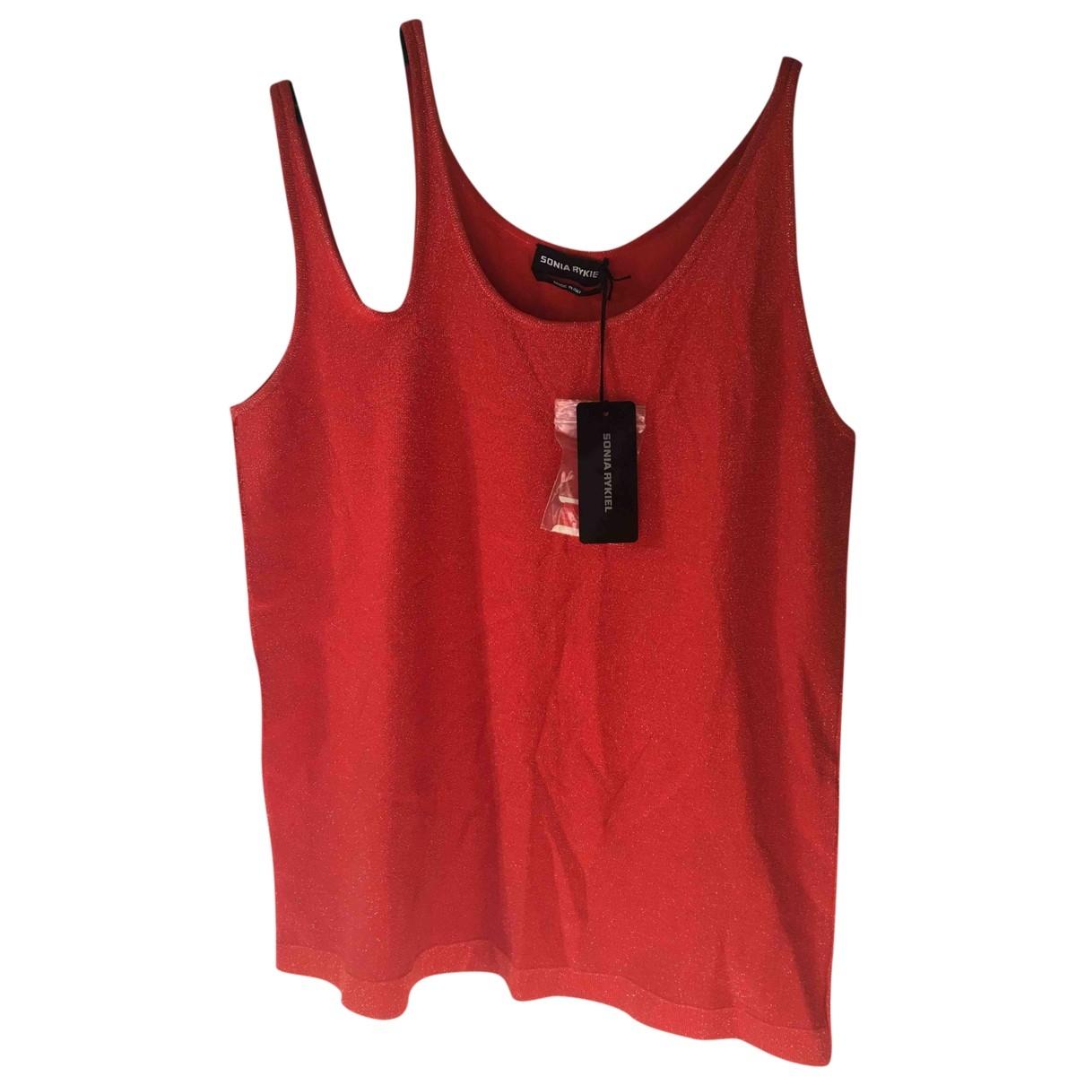 Sonia Rykiel \N Red Cotton  top for Women 46 FR