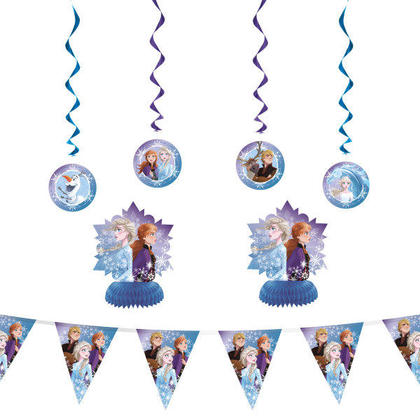 Disney Frozen 2 Decorating Kit, 7pc For Birthday Party
