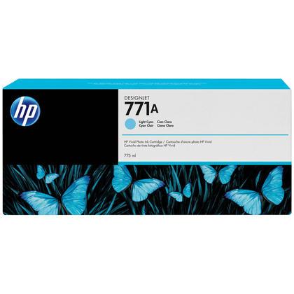 HP 771A B6Y20A cartouche d'encre originale cyan clair