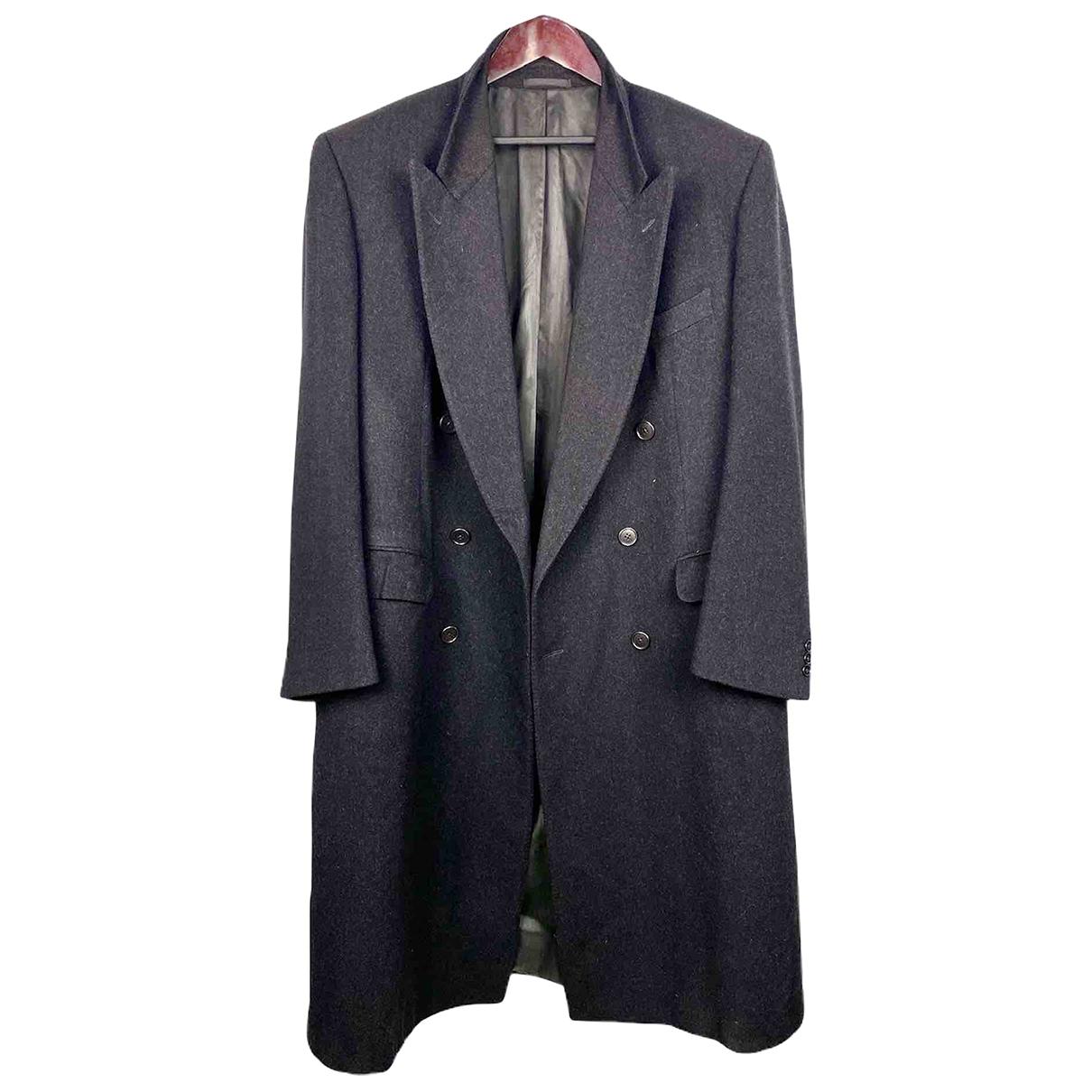 Dior - Manteau   pour homme en laine - gris